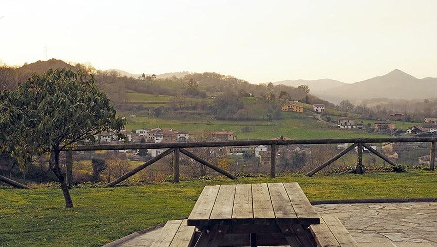 Vivienda vacacional en Asturias con barbacoa y chimenea