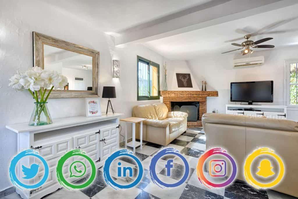 Redes sociales para promocionar una casa rural