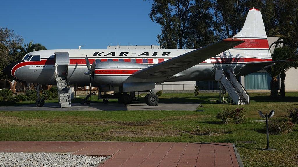 Visitar el Museo Aeronáutico es una de las mejores actividades para hacer con niños en Málaga