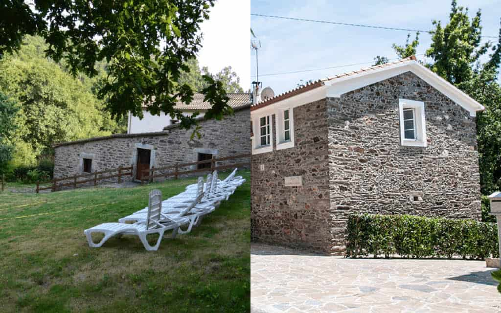 Casas rurales en Galicia completas baratas