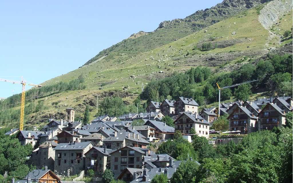 Valle de Boí en Cataluña
